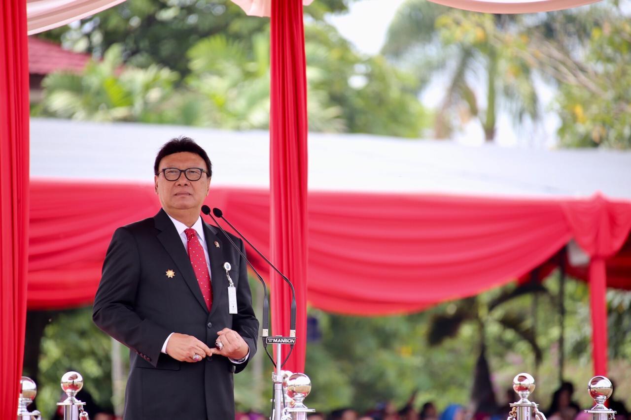 Sisi Lain Tjahjo Kumolo, Orangnya Megawati Didikan Taufiq Kiemas