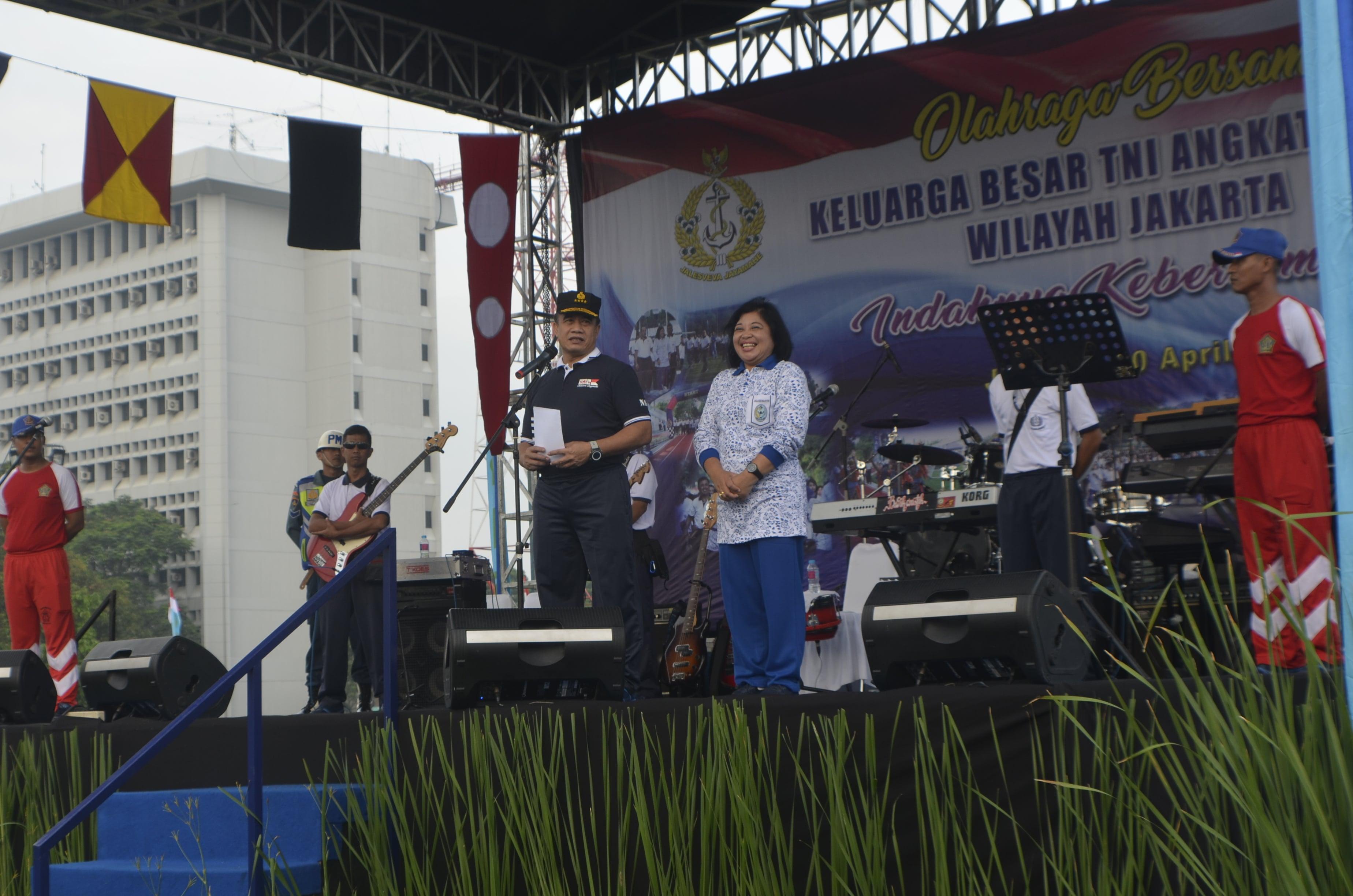 KSAL Laksamana TNI Ade Supandi, S.E., M.A.P. Resmikan TV Streaming milik TNI AL