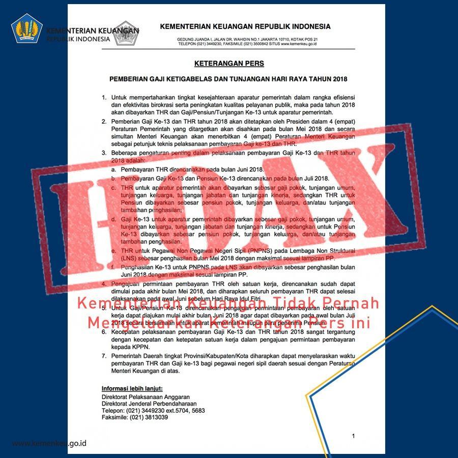Ada Hoax dan Bukan Hoax, ICSF Yang Lebih Tahu
