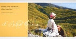 Launching Buku Ria Pasaman Soal Tenun di Art Galery Semesta Lounge, 10 Agustus 2018
