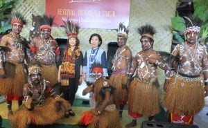 Pendopo Living World Alam Sutera, Tangsel, Angkat Budaya Indonesia Timur