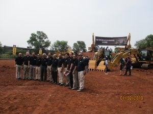 Peluncuran Hydraulic Excavator Next Gen dari Caterpillar Oleh Trakindo