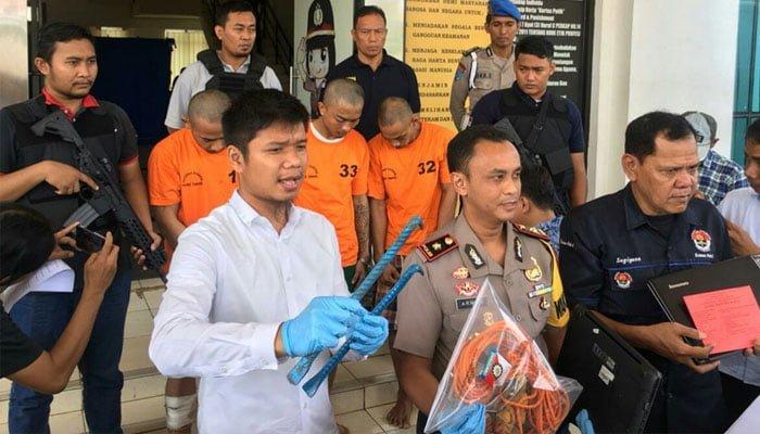 Pencuri Rumah di Cluster BSD City Dilumpuhkan Timah Panas Polisi