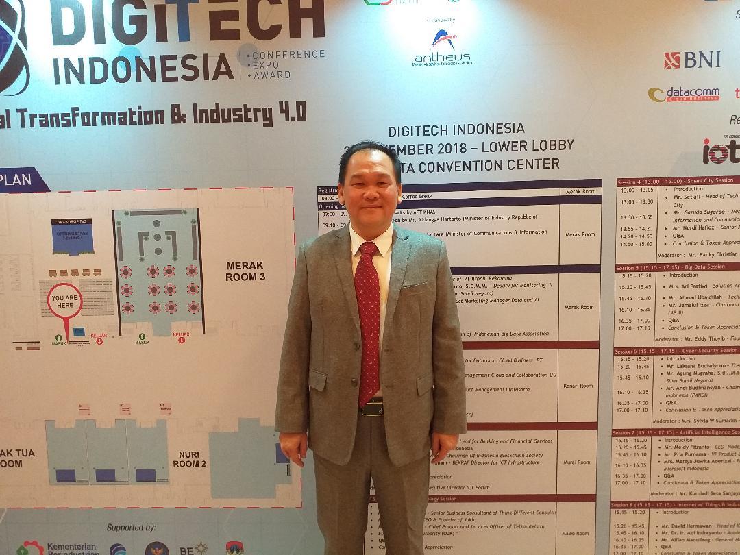 Sosok Dibalik Giat Digitech Indonesia