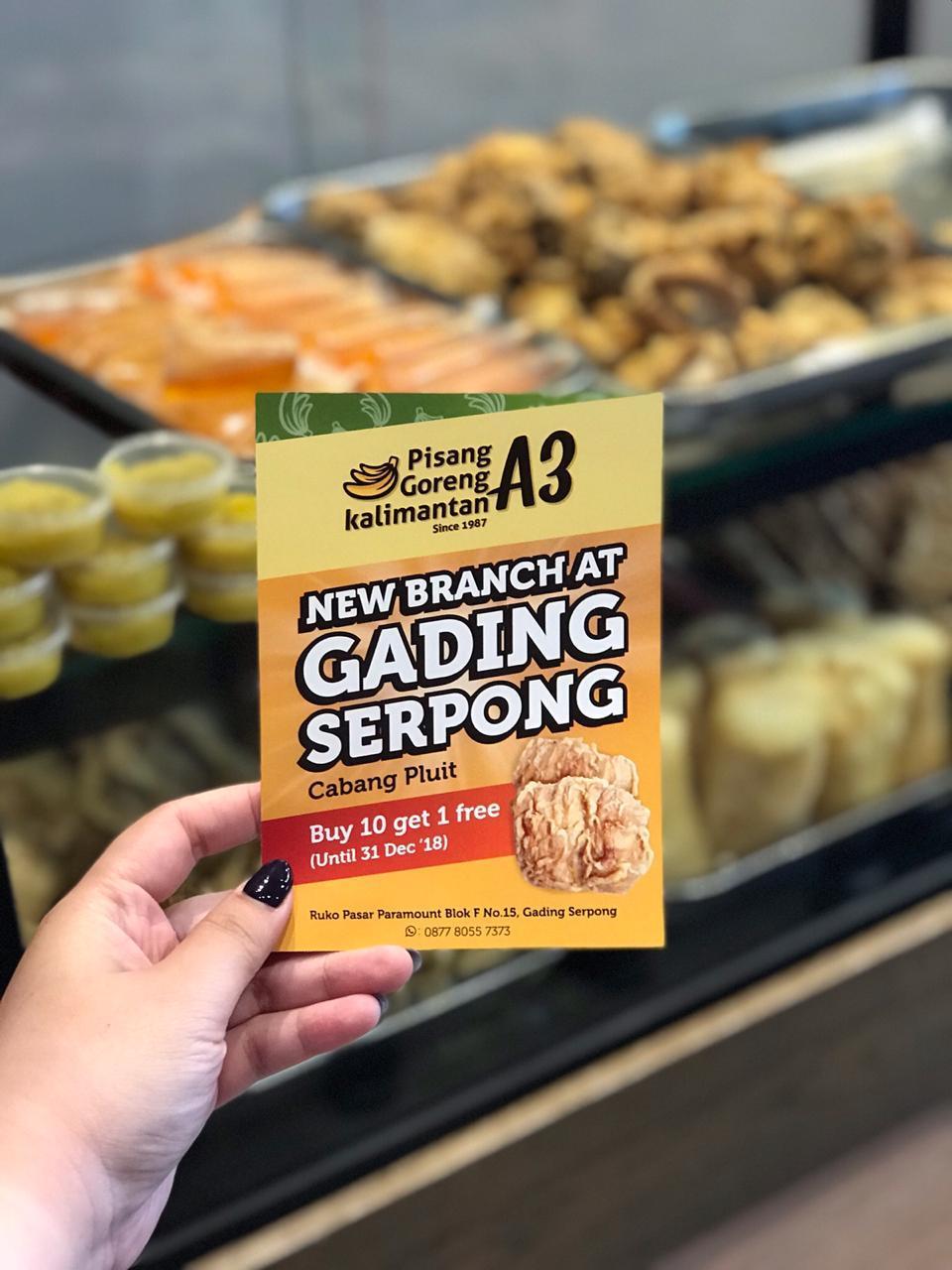 Launching Pisang Goreng Kalimantan A3