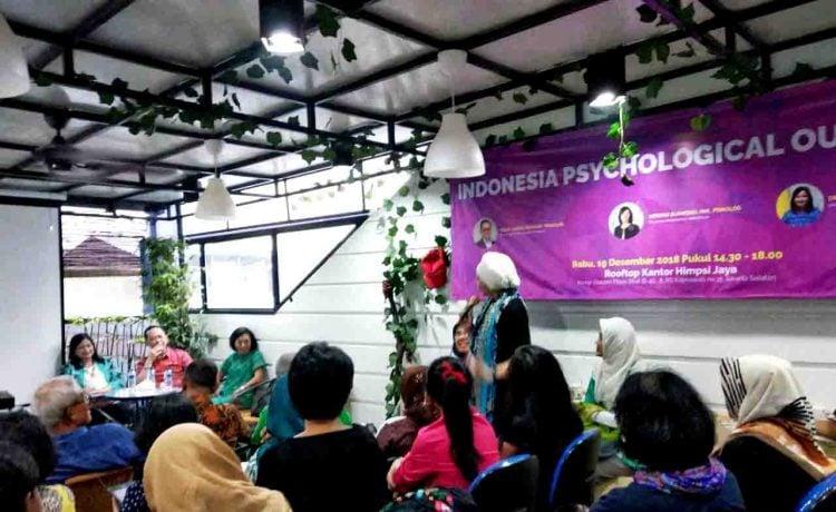 Lewat Indonesia Psychological Outlook 2019, Himpsi Jaya Ikut Berperan Dalam Menjaga Kesehatan Masyarakat.