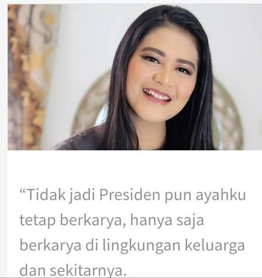 Tulisan Anak Jokowi, Kahiyang Ayu Menjadi Viral