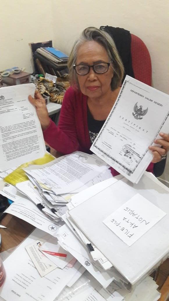 Kasus Rastiti VS Liem Hoa Hong Dilaporkan Ke Presiden Joko Widodo