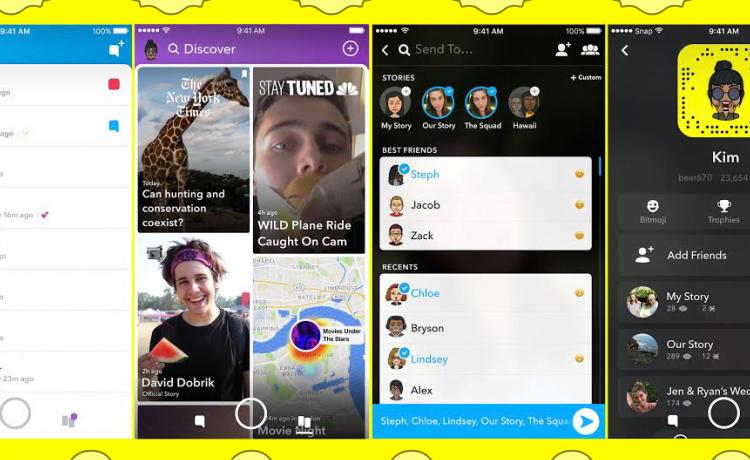 Aplikasi Snapchat Diperbincangkan