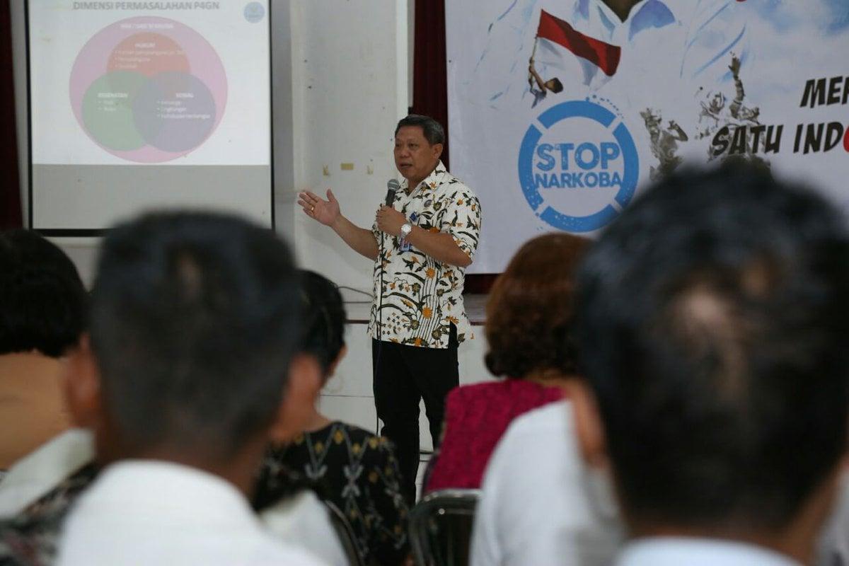 Program LSM Desa Cegah Narkoba Diduplikasi Desa Bersinar BNN