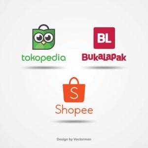 Indonesian-marketplace-logo-bukalapak-tokopedia-shopee