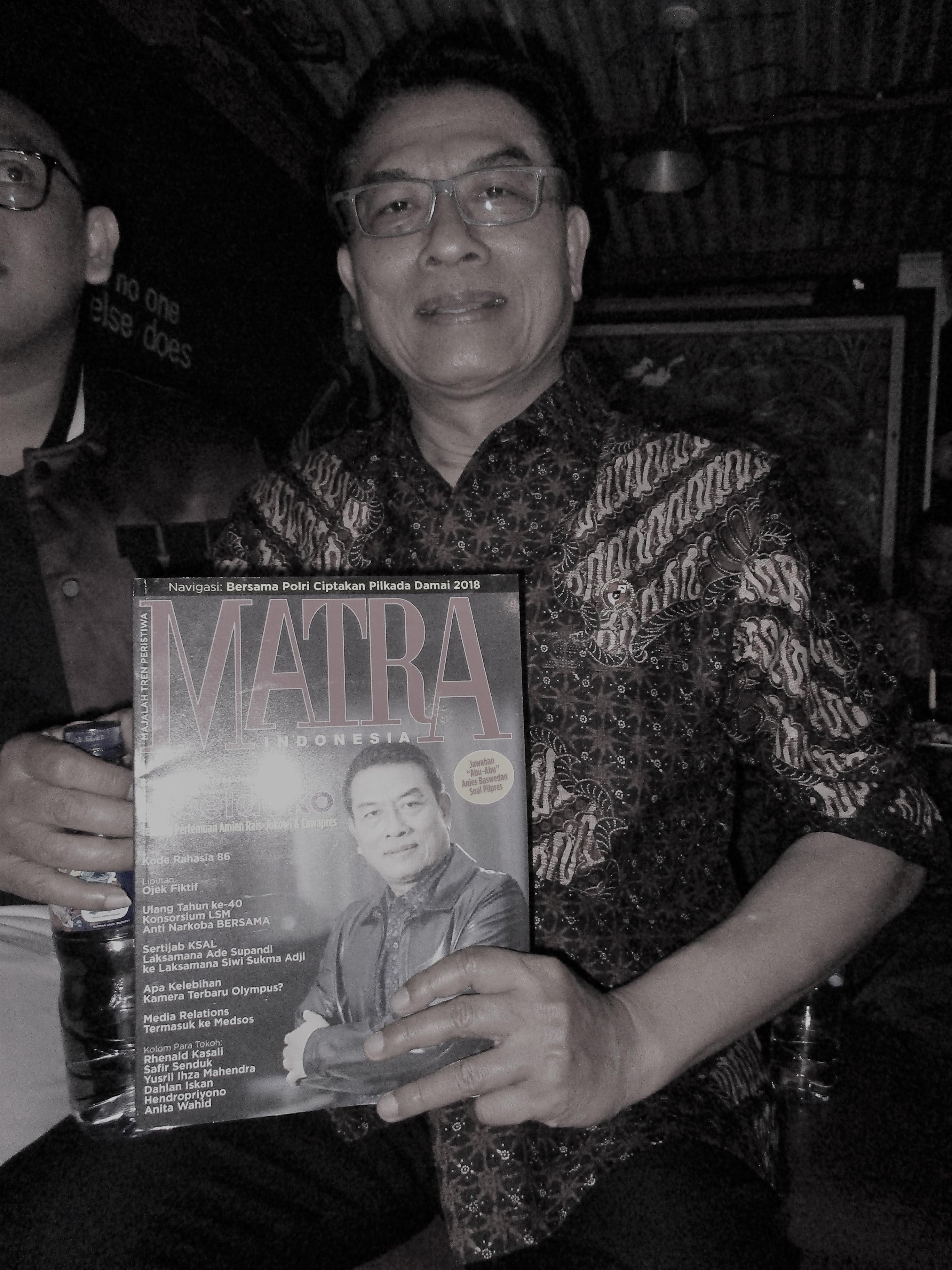 Moeldoko Dikritik Tim Kampanye Prabowo-Sandiaga Uno