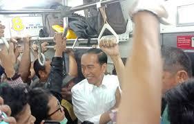 Bagaimana Keamanan Jokowi di KRL Kemarin?
