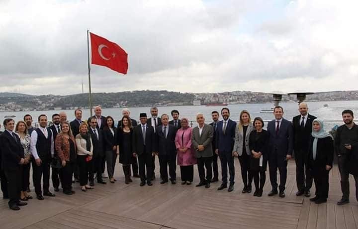 Anies Baswedan ke Bahcesehir Universiteti Istanbul