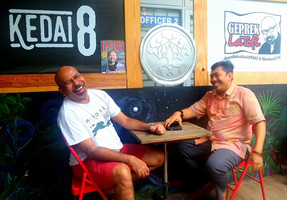 No 46, Taufik La Tofi Menjadi Anggota DPD RI Yang Diperbicangkan di Pooling