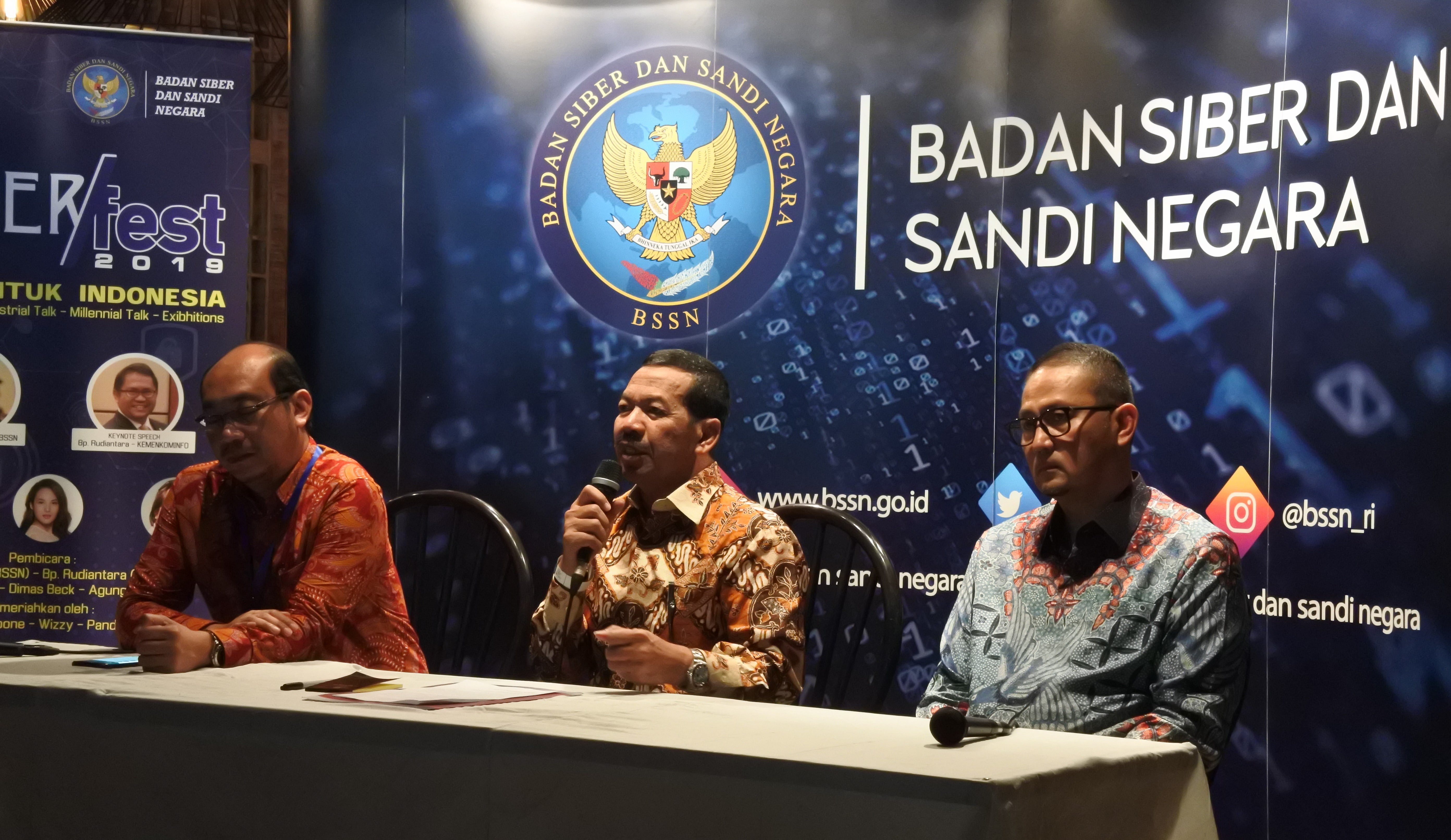 CyberFest 2019, BSSN Untuk Indonesia