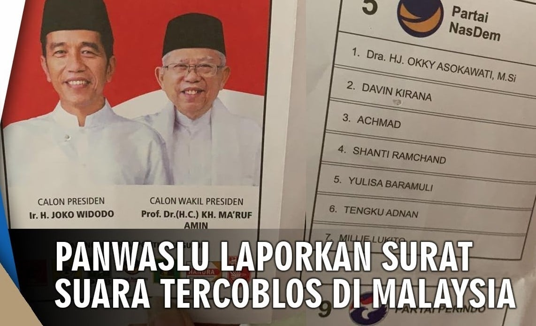 Klarifikasi Tentang Surat Suara Di Malaysia