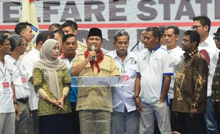 """Prabowo Subianto : """"Mereka Yang Curang, Akhlaknya Seperti Lutung."""""""