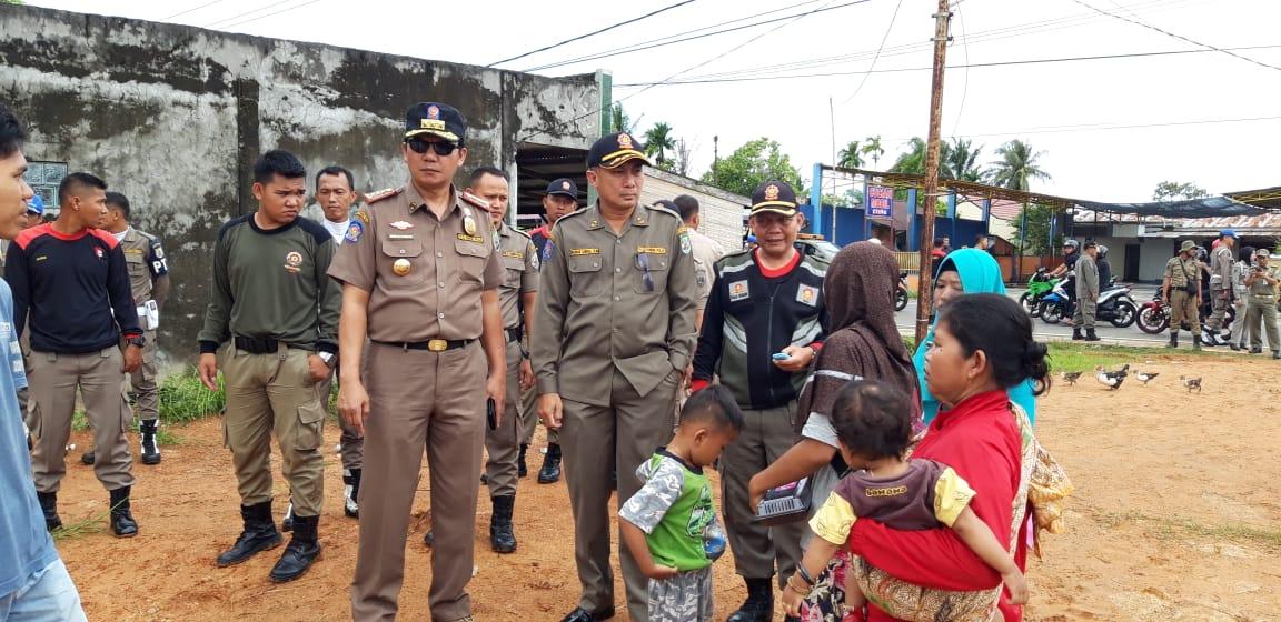 Proses Evakuasi Warga Musibah Bencana Alam, Bengkulu