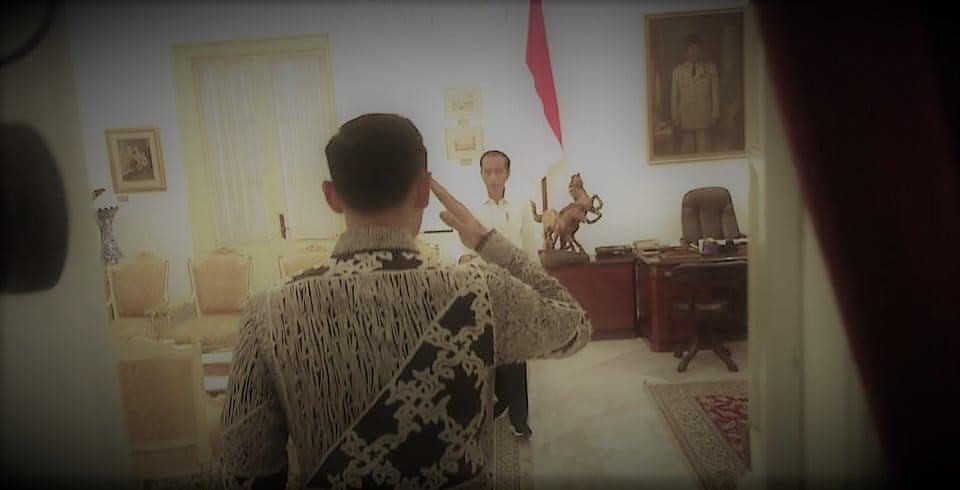 """Siap. Hormat, Bapak Presiden"""