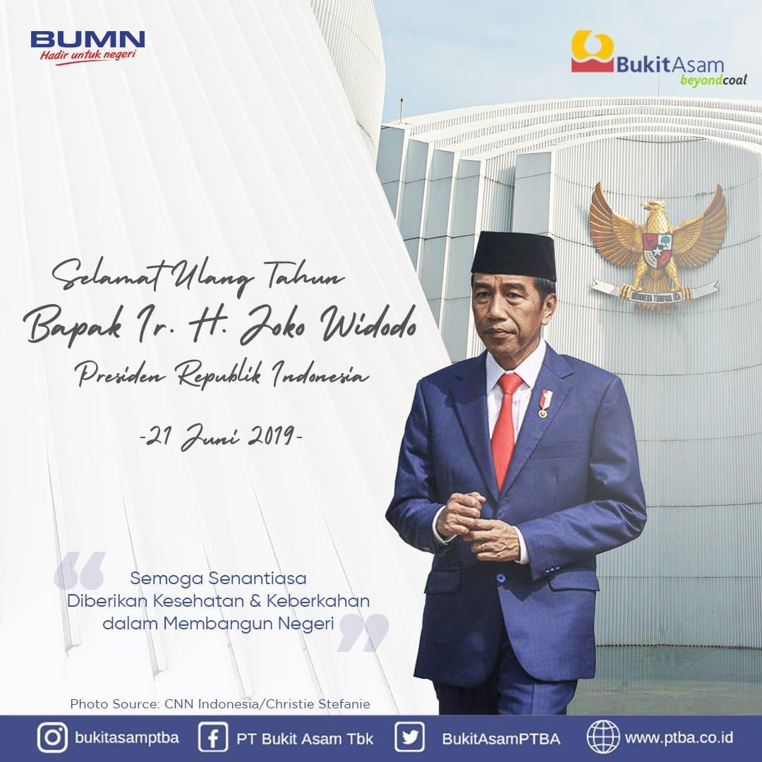 Ragam Ucapan Ke Presiden Jokowi Termasuk Dari Pelbagai Bumn Matra