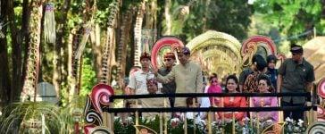 Tak Hanya Membuka Acara, Presiden Jokowi Ikut Menjadi Peserta Pawai Pesta Kesenian Bali 2019