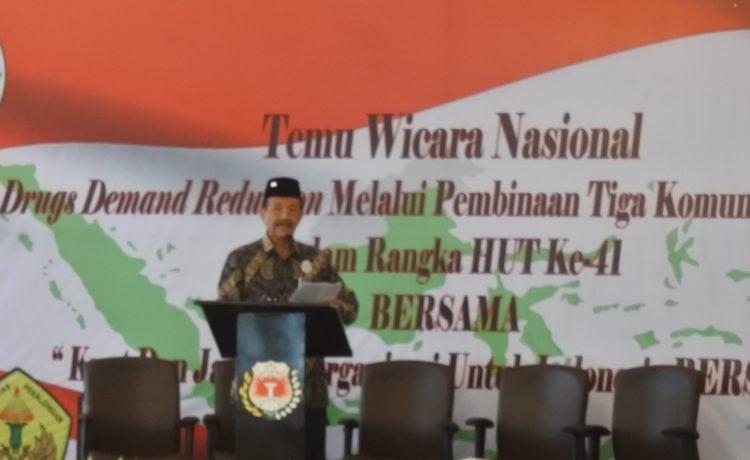 """Putera Astaman (Ketum Bersama): """"Indonesia Sudah Dinyatakan Pasar Narkoba Terbesar di Asia."""""""