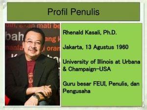 Rhenald Kasali Bela CEO Garuda