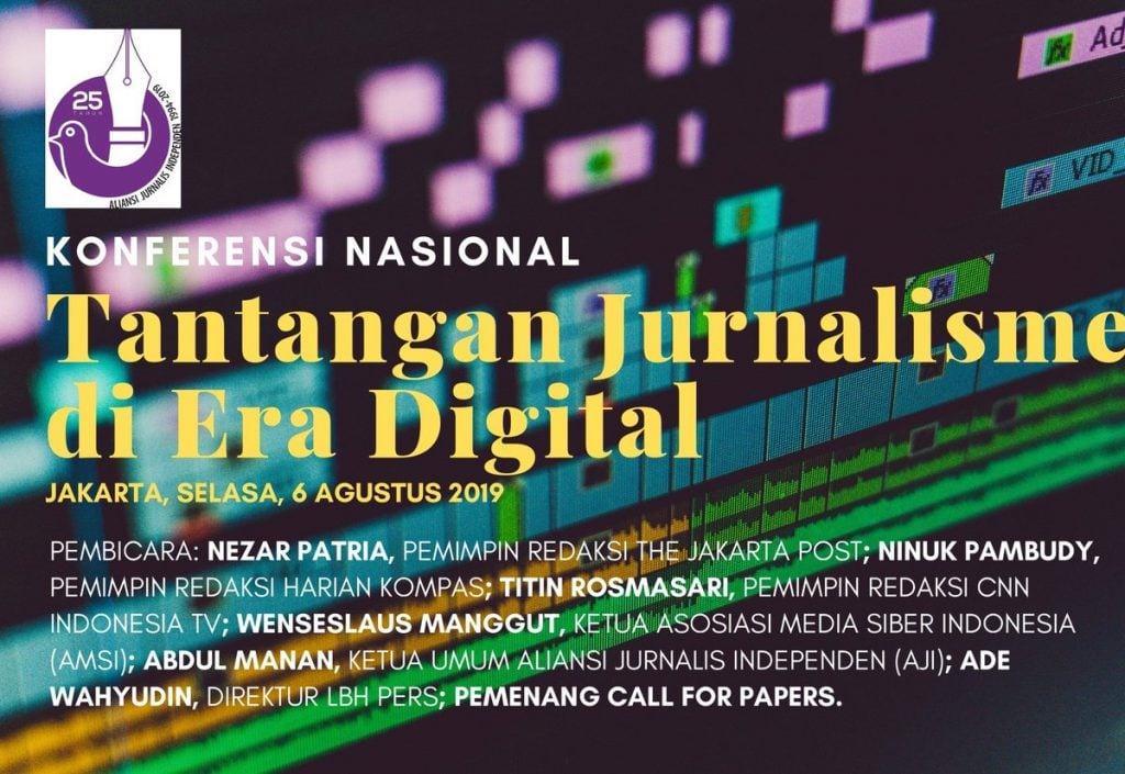 Seminar 25 Tahun Kelahiran AJI, The Biggest Challenge of Journalisme in Digital Era