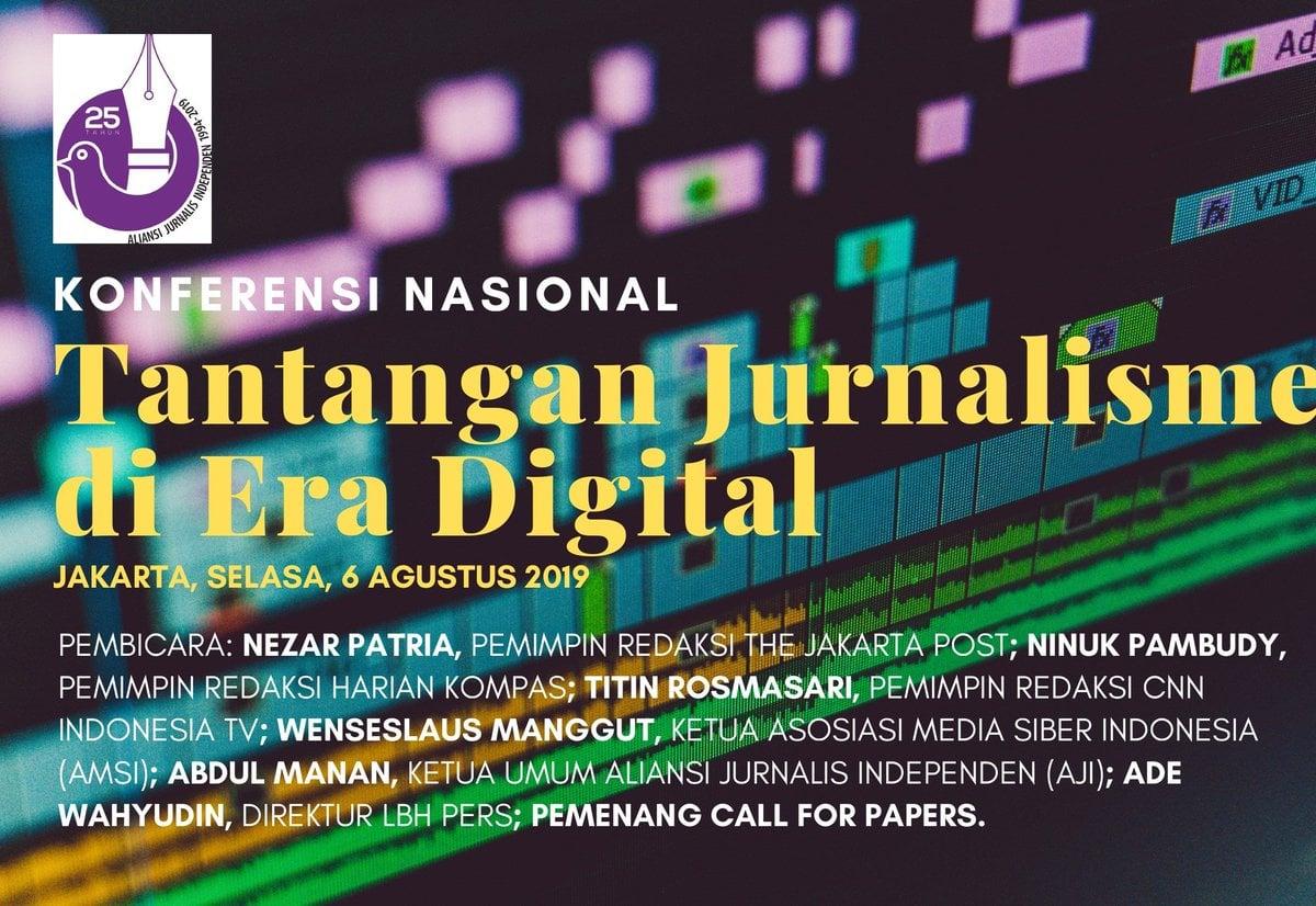 Seminar 25 Tahun Kelahiran AJI, The Biggest Challenge of Journalisme in Digital Era