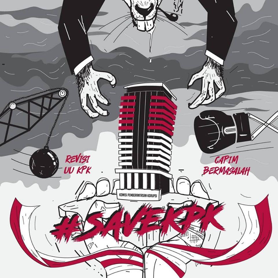 """#SaveKPK, """"Pak Jokowi Dimana?"""""""