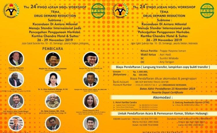 The 24 th IFNGO Asean Workshop