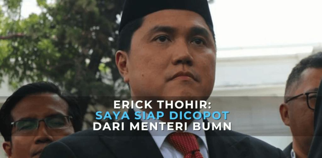 "Erick Tohir (Menteri BUMN): ""Direksi BUMN Jangan Wa, Complaint Melulu. Beri Solusi!"""