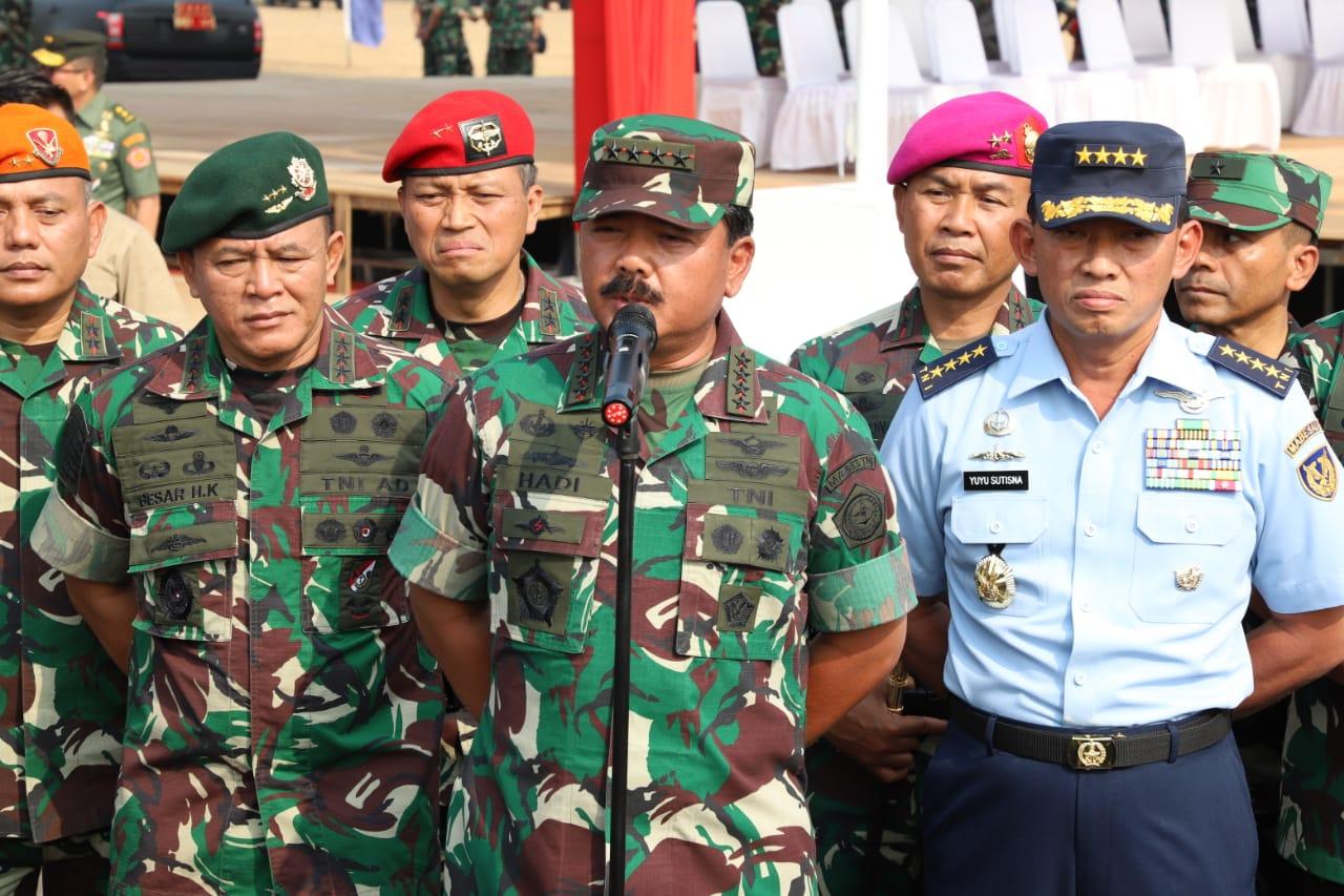 """Pasukan Khusus Tiga Matra, Merupakan Prajurit-Prajurit Pilihan""."