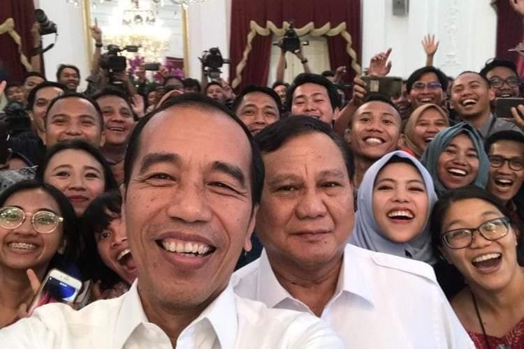 Klik! Jokowi-Prabowo