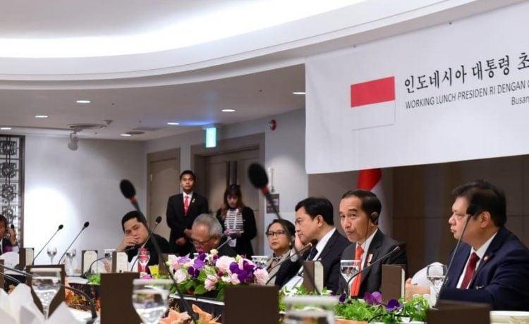"""Presiden Jokowi: """"ASEAN dan Korea Memiliki Potensi Besar di Bidang Industri Kreatif."""""""