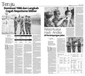 "Jejak Digital ""Persaingan"" TNI/Polri, Catatan Pinggir Yang Terhapus"