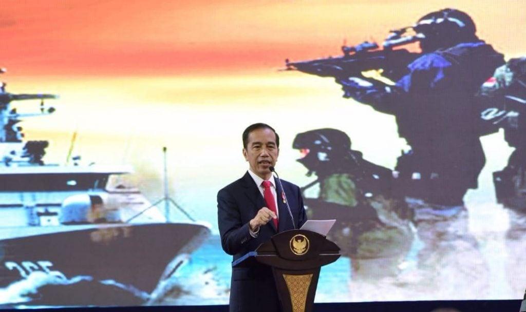 """Jokowi: """"Usia Pensiun TNI, Kita Usulkan Untuk Diubah Menjadi 58 Tahun"""""""