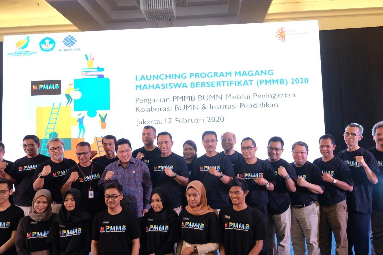 "Program Magang Bersertifikat Ciptakan ""Link and Match"" Industri - PT"