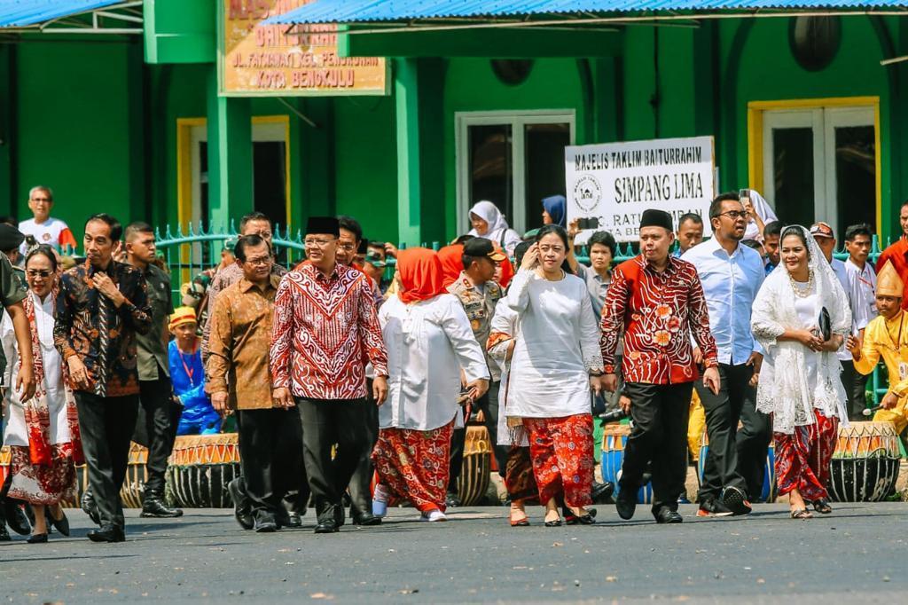 Presiden Jokowi, Kenang Ibu Fatmawati di Bengkulu