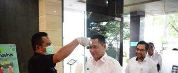 Bulog Terapkan Protokol Cegah Virus Corona di Seluruh Wilayah Kerjanya