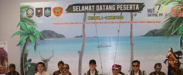 Satpol PP Dari Seluruh Indonesia Penuhi Obyek Wisata Lombok