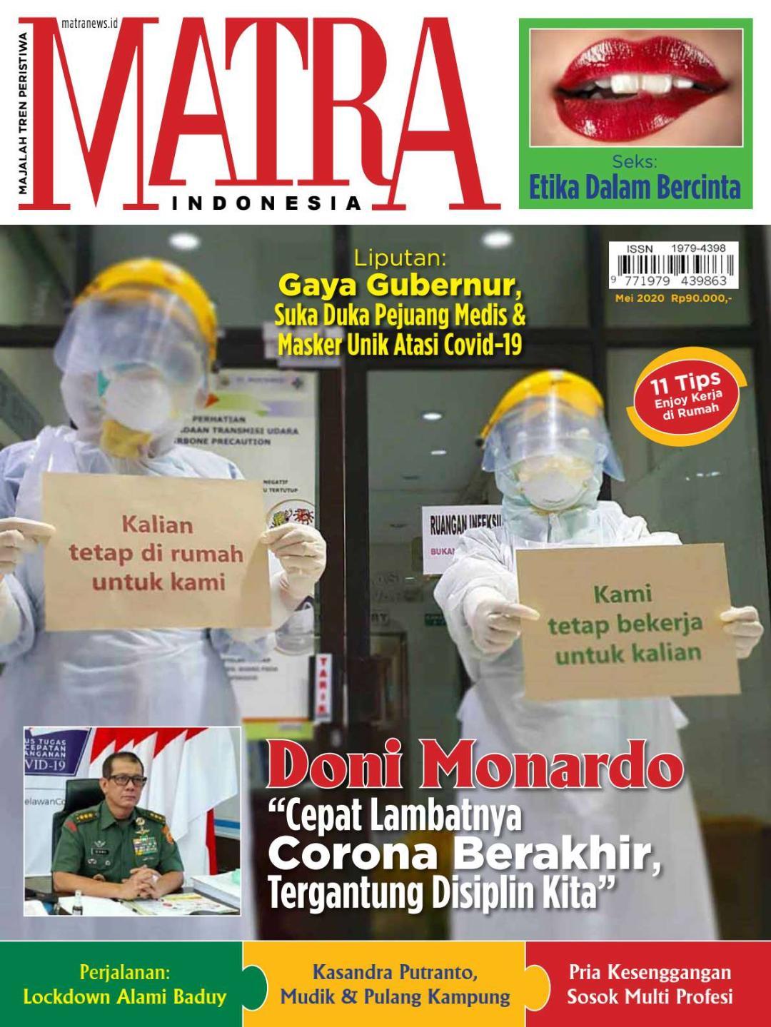 Dinamika MATRA Dalam Distribusi Media Cetak, E-Magazine Solusi Lain