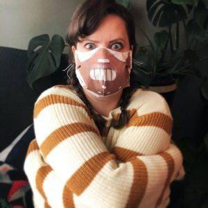 Masker Unik, Lucu