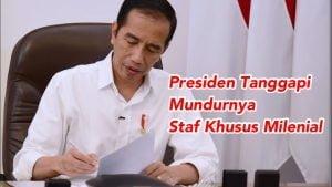 Presiden Jokowi Setujui Pengunduran Diri Belva dan Andi Taufan