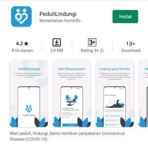 Kominfo: Aplikasi PeduliLindungi Aman dari Phising dan Malware