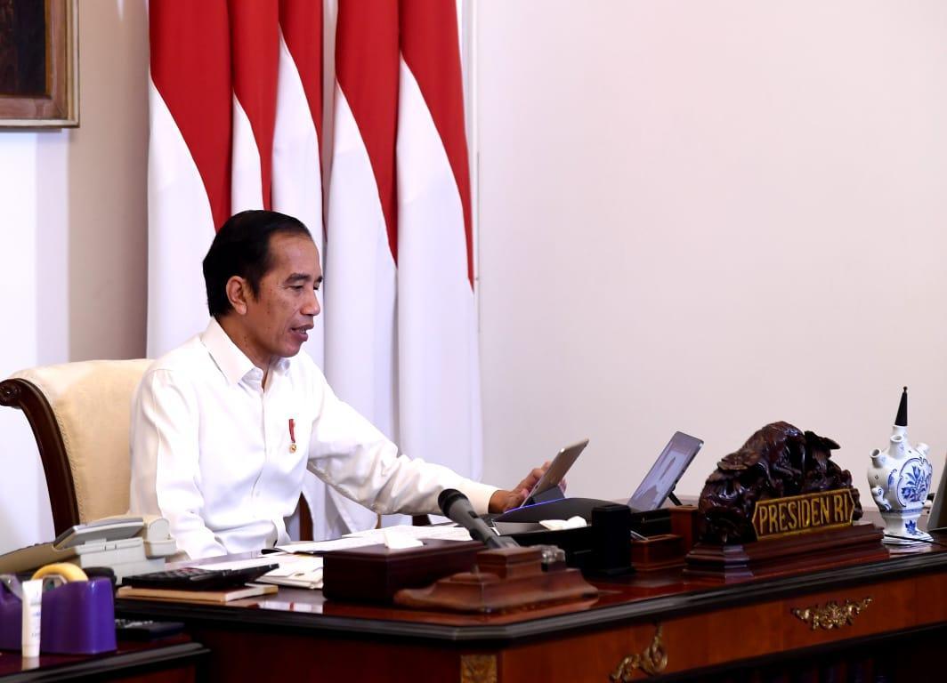 Presiden Perintahkan Mendagri Untuk Melandaikan Kurva Covid-19 di Seluruh Daerah