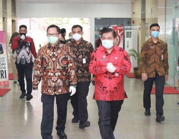 Pengembangan Kawasan Pendukung Tiga PLBN, Dibahas Menteri Tito dan Pejabat BNPP