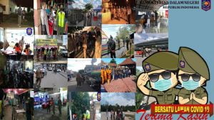 Pol PP Linmas Se-Indonesia Siap Laksanakan Tugas Pilkada Serentak, Desember 2020