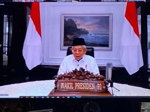 Wakil Presiden Apresiasi Lomba Inovasi Daerah Tatanan Normal Baru yang digelar Kemendagri